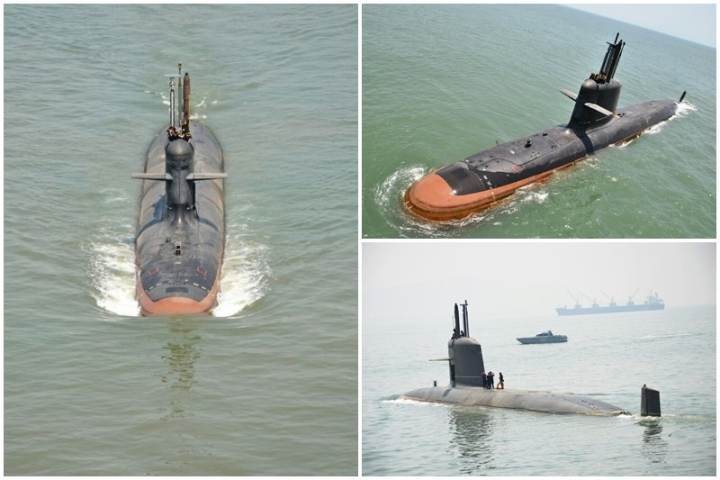 INS Kalvari, Navy's First Conventional Submarine In 17 Years, To Be Commissioned Tomorrow By PM Modi