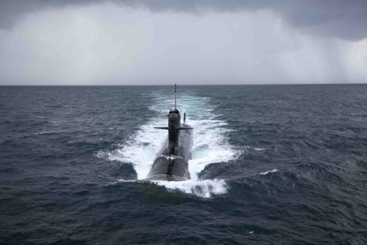 First Scorpene-Class Submarine, INS Kalvari,  Handed Over To The Navy; To Be Commissioned Soon