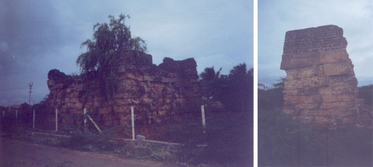 British demilitarised  Travancore by systematic destruction of fortifications.We continue the destruction.One can see such destroyed watchtowers dotting many places in the district.