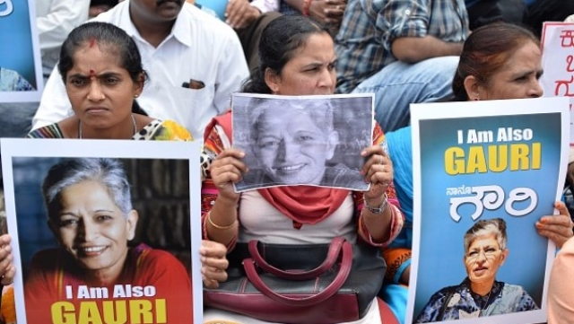 Who Killed  Lankesh? We Did, By Opting For  Politics Of Private Freebies Instead Of Public Goods Like Law And Order