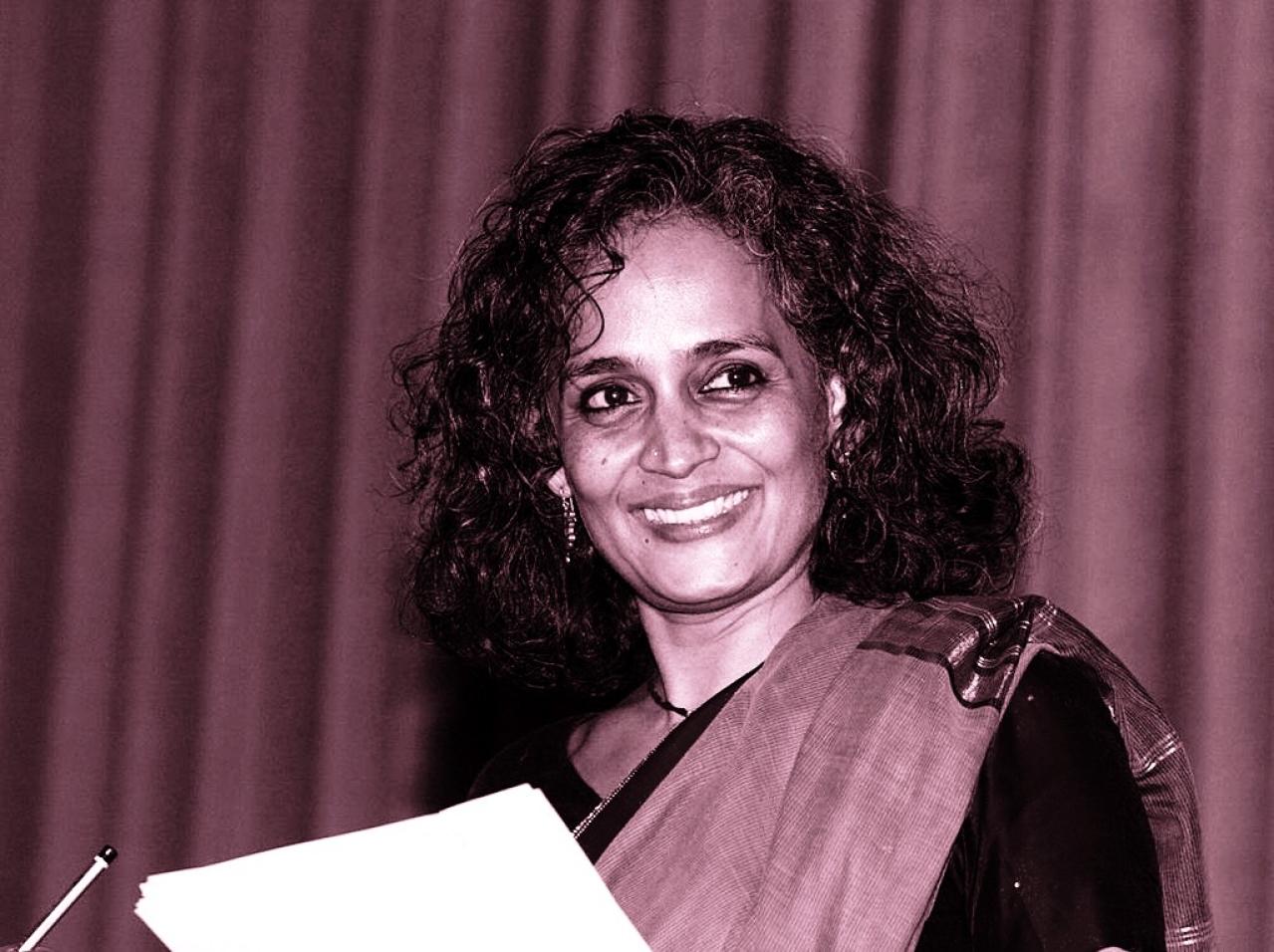 Arundhati Roy (HOCINE ZAOURAR/AFP/Getty Images)
