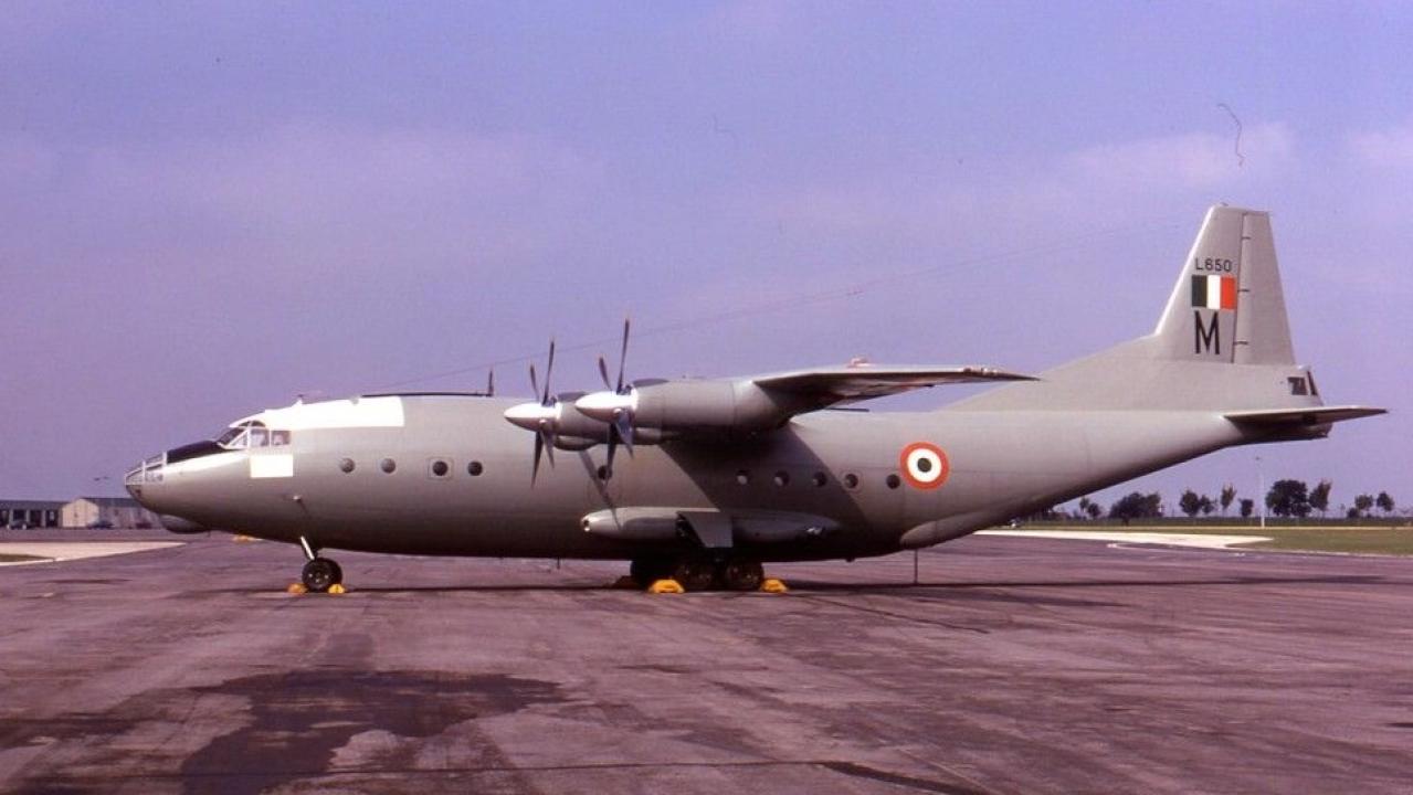 An-12 L650 of Number 44 Squadron. (Adrian Balch/bharat-rakshak.com)