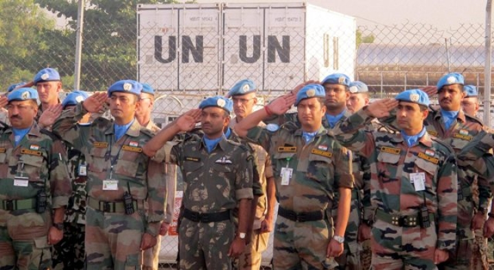 Indian Peacekeepers In  South Sudan    Awarded UN Medal