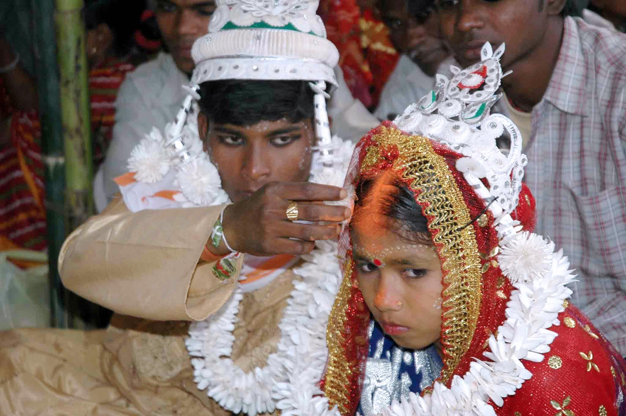 Child Marriage (STRDEL/AFP/Getty Images)