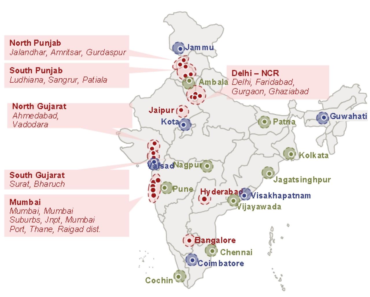 24 logistics parks identified under Bharatmala