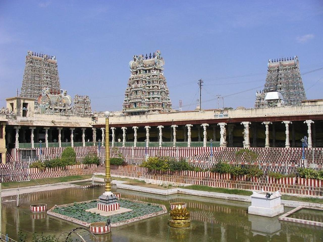 Meenakshi Sundareshwar Temple in Madurai