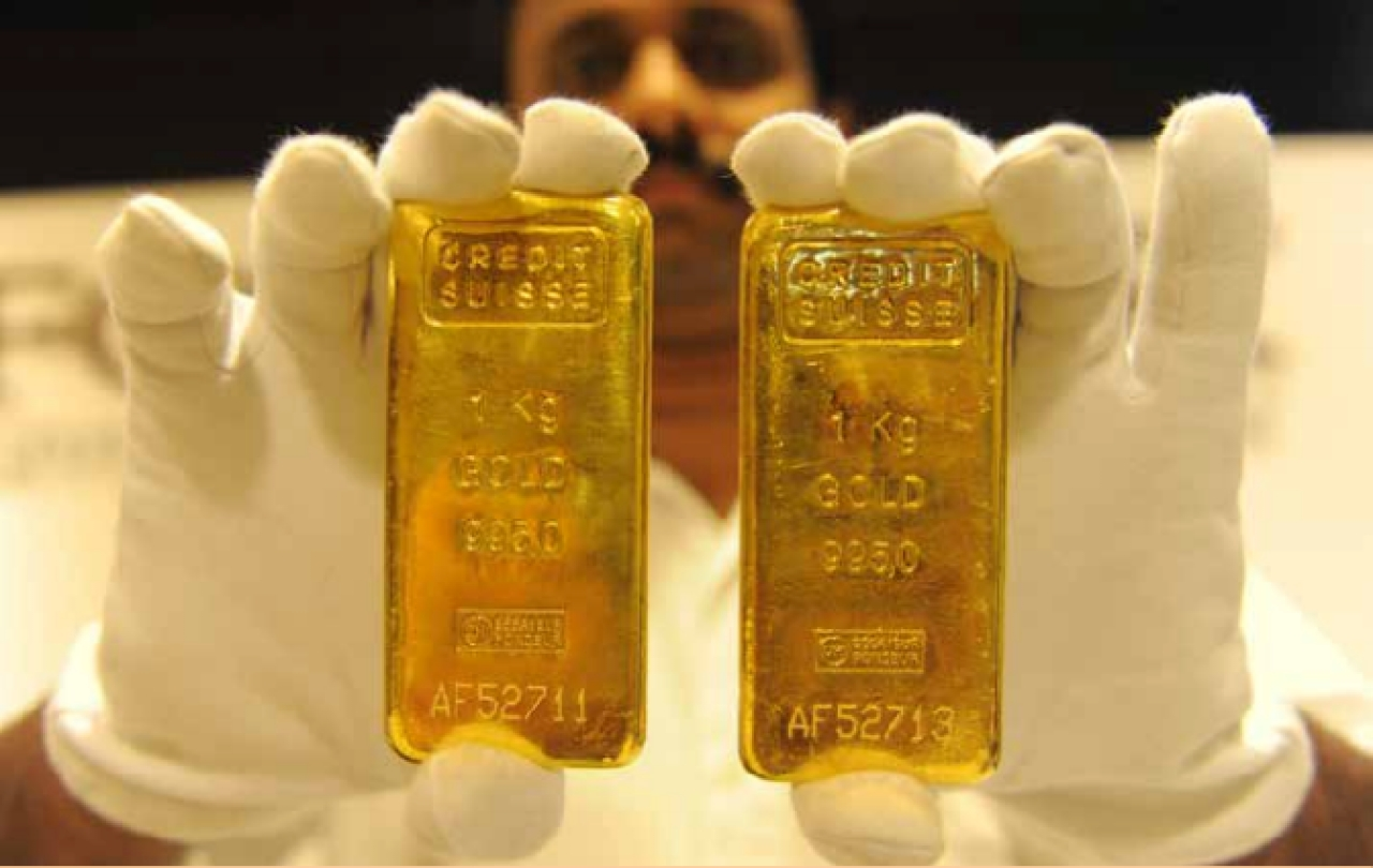 Gold has been one of the most boring assets to hold on to over the last four years. (Sam Panthaky/AFP/Getty Images)