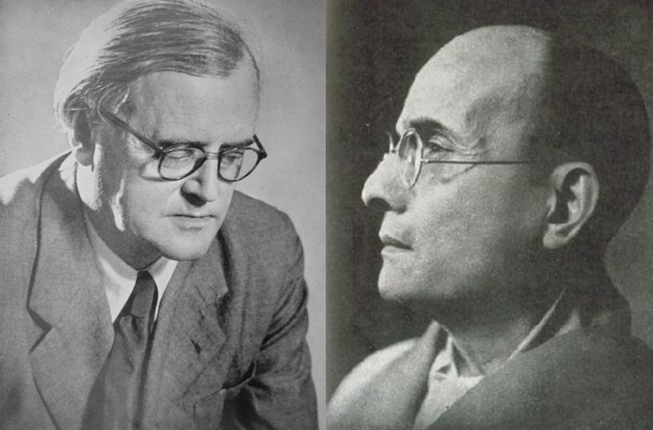 Verrier Elwin and  Vinayak Savarkar