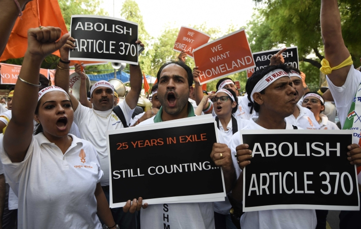 Sorry Chidu, J&K's Record On Ethnic Cleansing Shows It Deserves Less Autonomy, Not More
