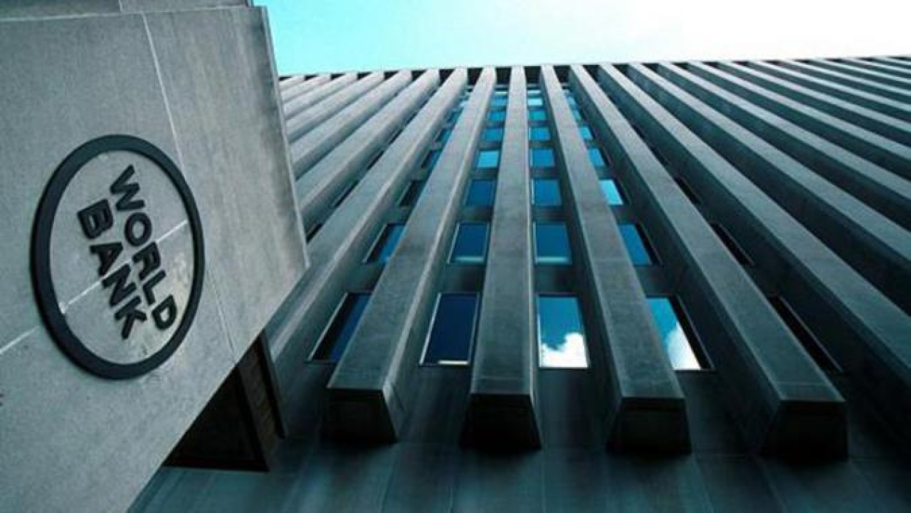 A view of the World Bank building in Washington. (GettyImages)