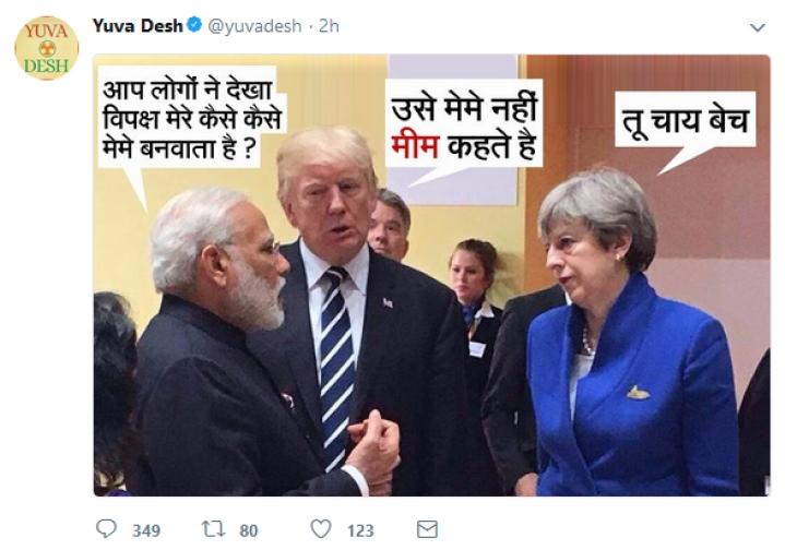 "Yuva Congress Mouthpiece Tweets Meme Calling PM Modi ""Chaiwala"", Deletes It After Backlash"