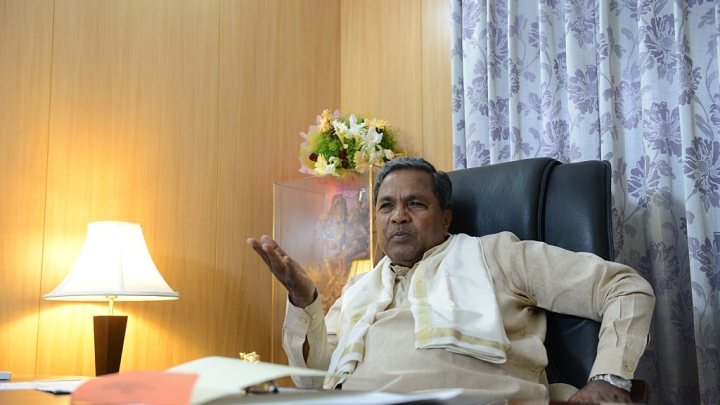 """Anguished Veerashaiva seers to Siddharamiah """"Don't Divide Dharma, Allow Us To Focus On Charity And Social Upliftment."""""""