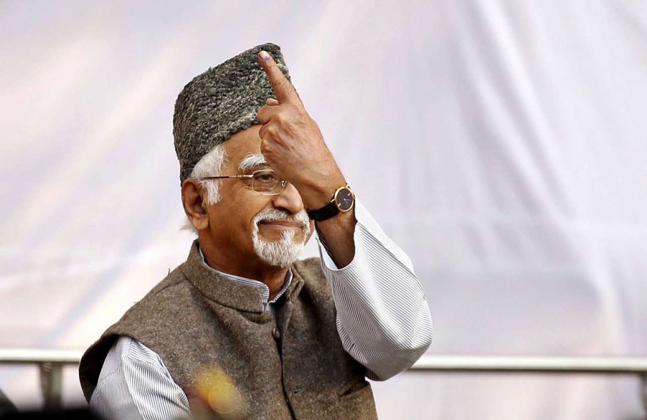 Hamid Ansari (Ajay Aggarwal/Hindustan Times via Getty Images)