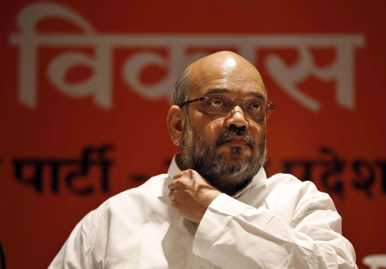 Amit Shah (Arun Sharma/Hindustan Times via Getty Images)