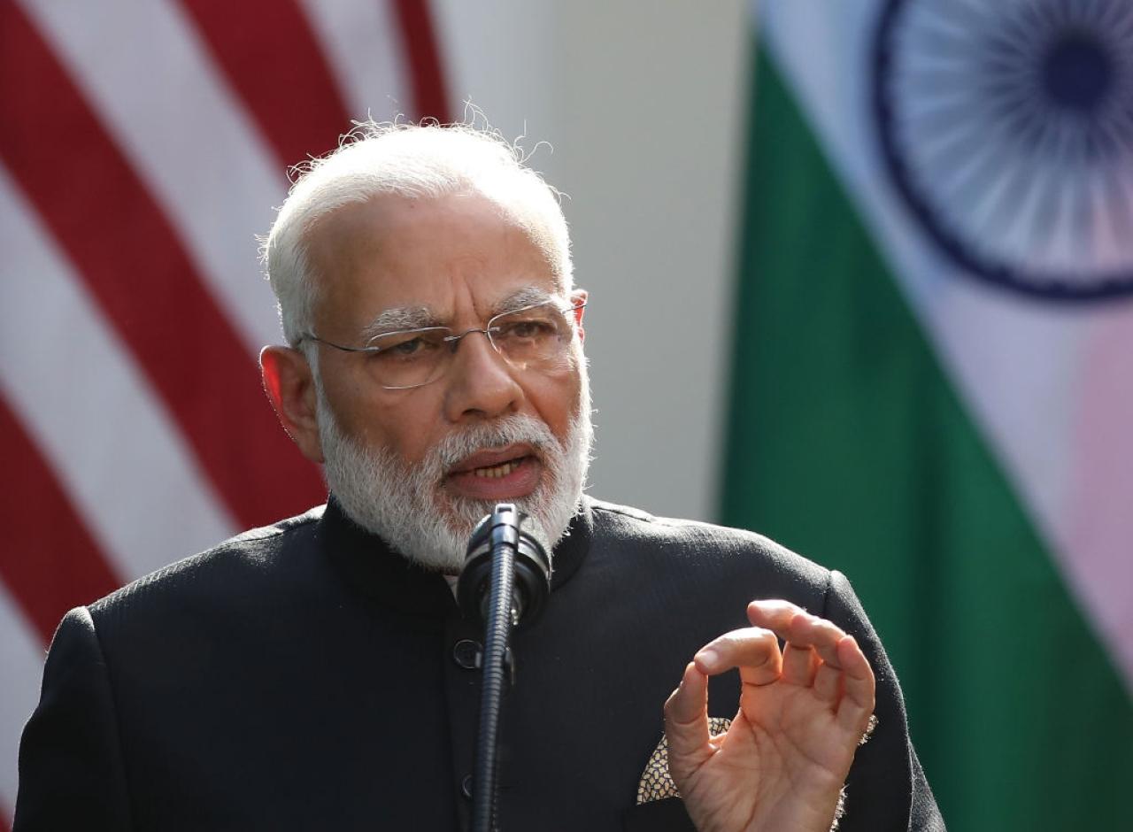 Prime Minister Narendra Modi. (Mark Wilson/Getty Images)