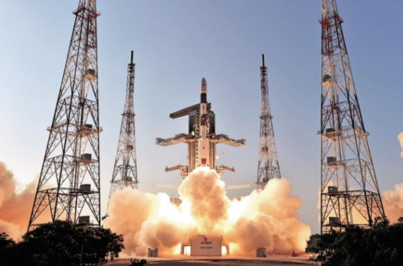 Launch of satellites by ISRO