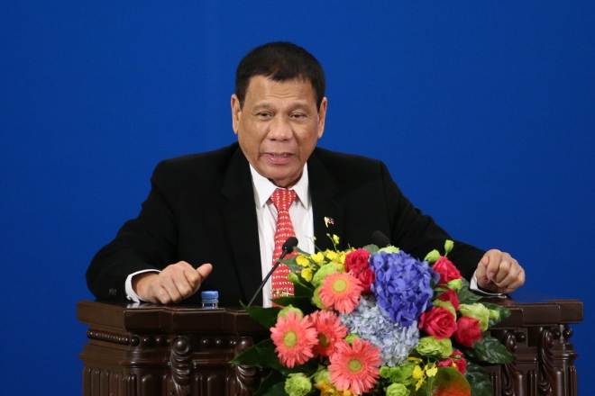 Duterte Says He's Pulling Philippines Out From International Criminal Court