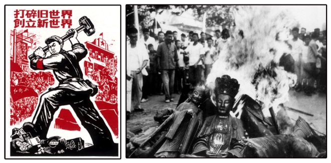 Marxist attack on Buddhism.(1966-1976)