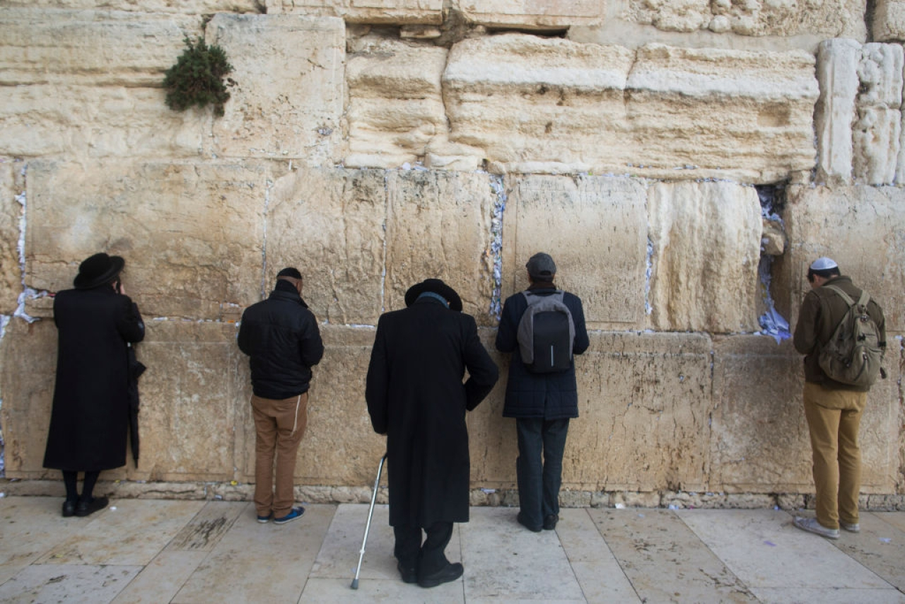 Western Wall in the Old City, Jerusalem, Israel. (Lior Mizrahi/Getty Images)