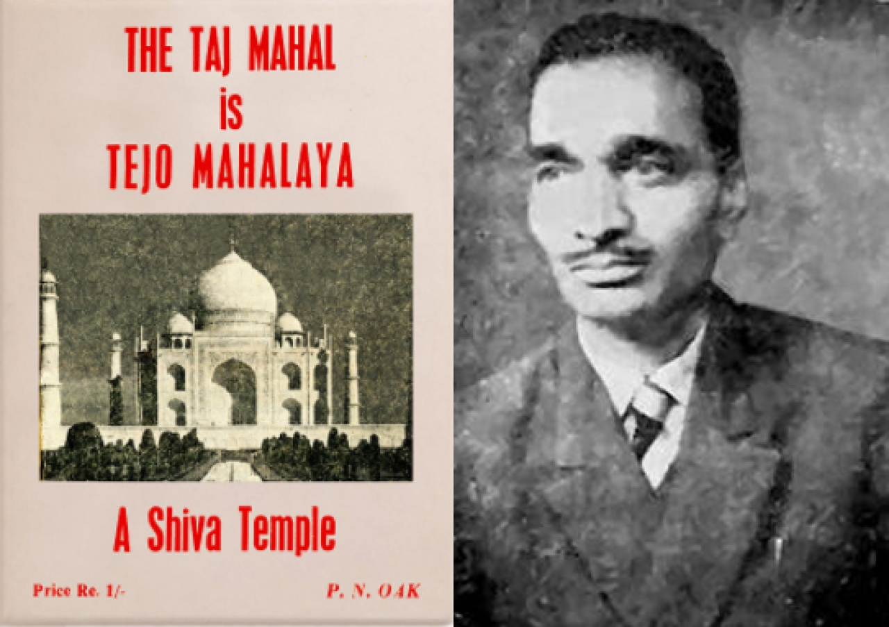 <p>P N Oak and his notorious  claim – the Taj Mahal was a Hindu temple.</p>