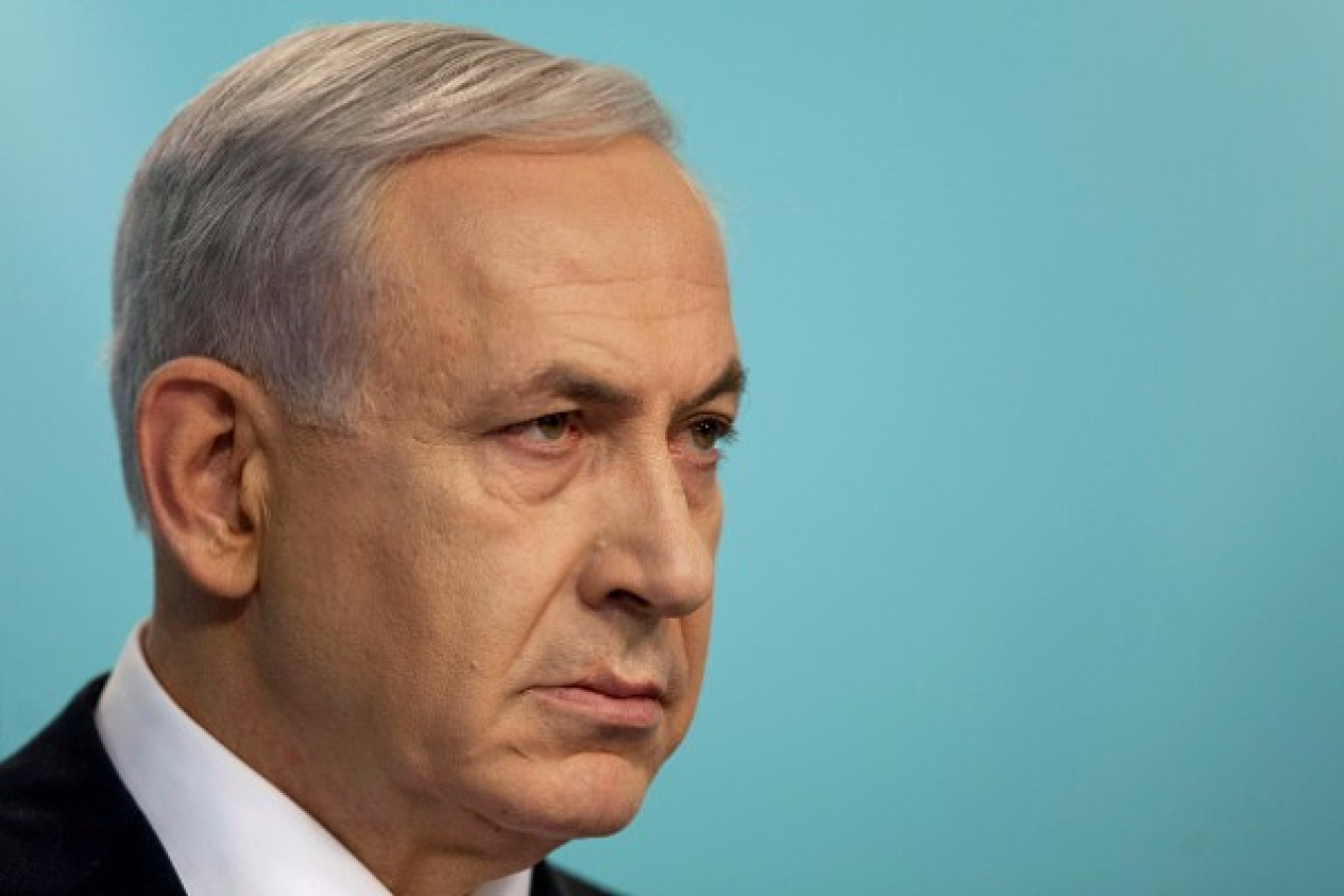 Benjamin Netanyahu asked the Iranian people to use social media to foster co-existence. (Lior Mizrahi/Getty Images)
