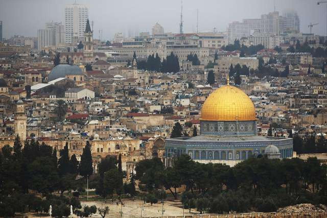 <p>Jerusalem skyline (Spencer Platt/GettyImages)</p>