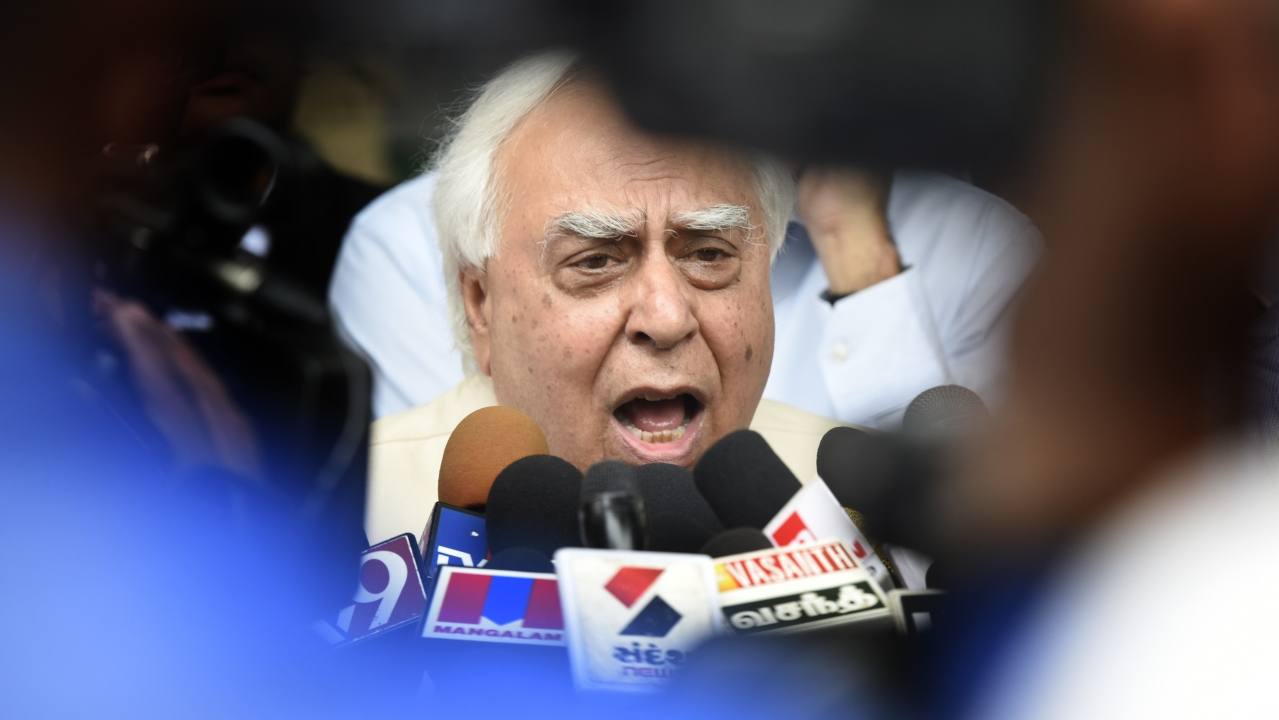 For The BJP,  Kapil Sibal's Foot In The Mouth Disease Is A Gift That Keeps On Giving