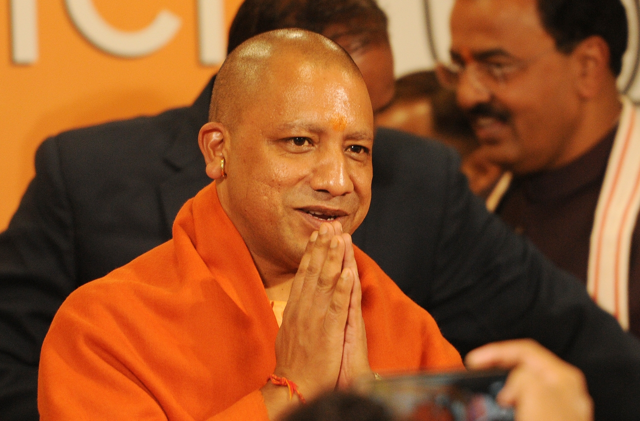 <p>UP Chief Minister Yogi Adityanath. (Subhankar Chakraborty/Hindustan Times via GettyImages)</p>