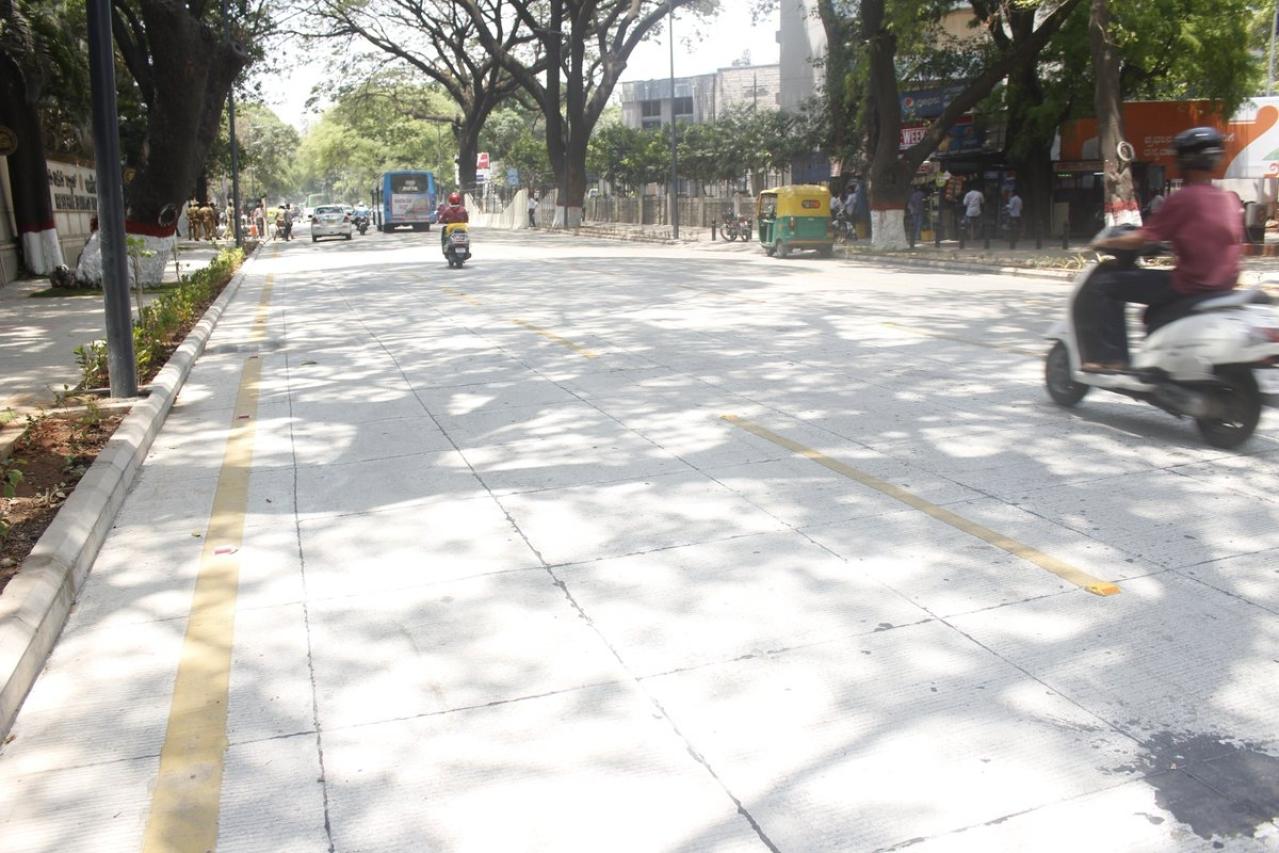 White-topped Nrupathunga Road (GoK Updates/Twitter)