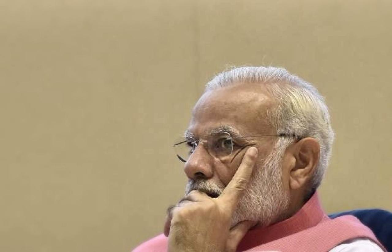 Prime Minister Narendra Modi (Sonu Mehta/Hindustan Times via Getty Images)
