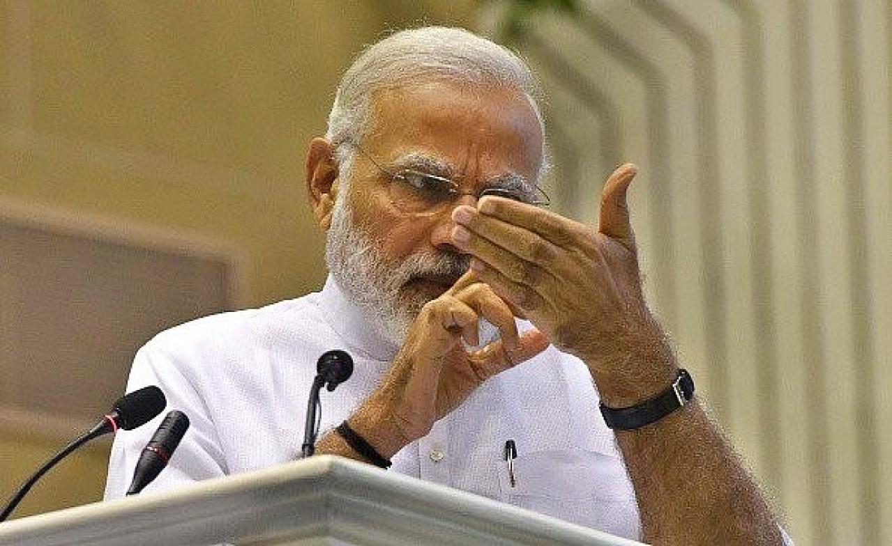 Prime Minister Narendra Modi. (Money Sharma/AFP/Getty Images)