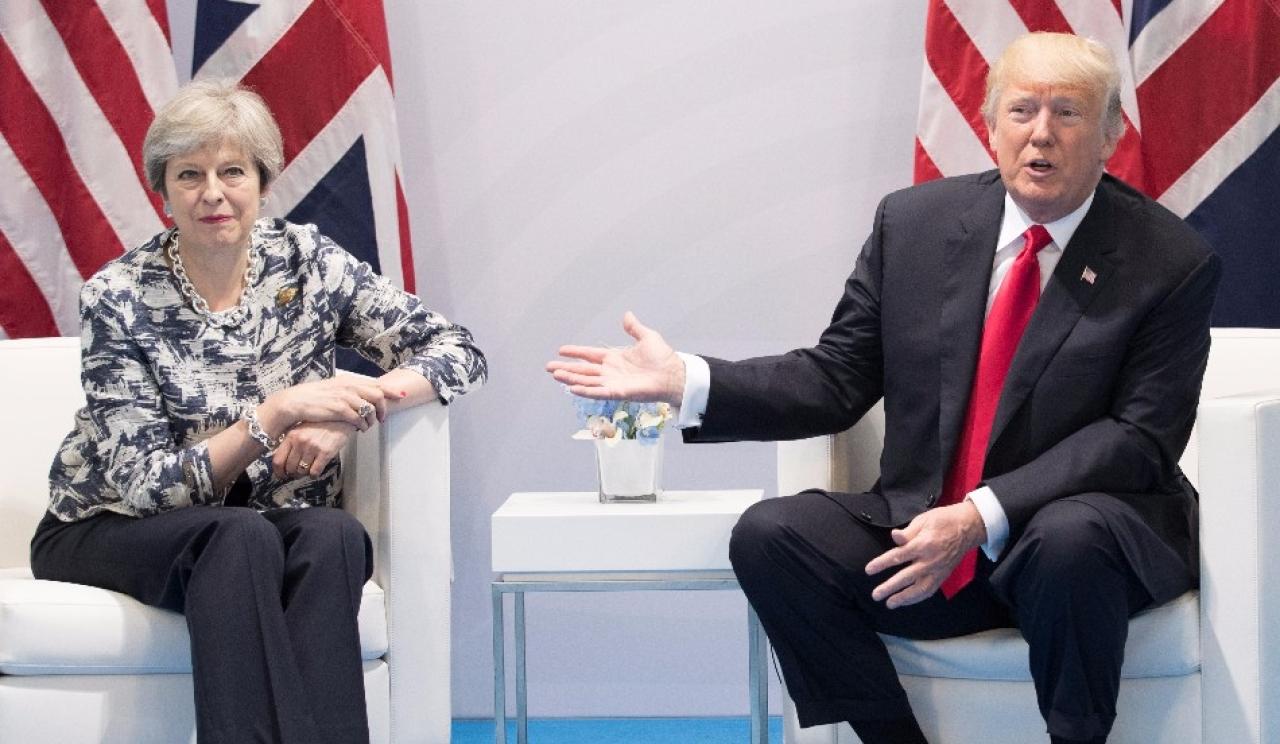 US President Trump Retweets British Far-Right Leader, Kicks Up Diplomatic Storm With The UK