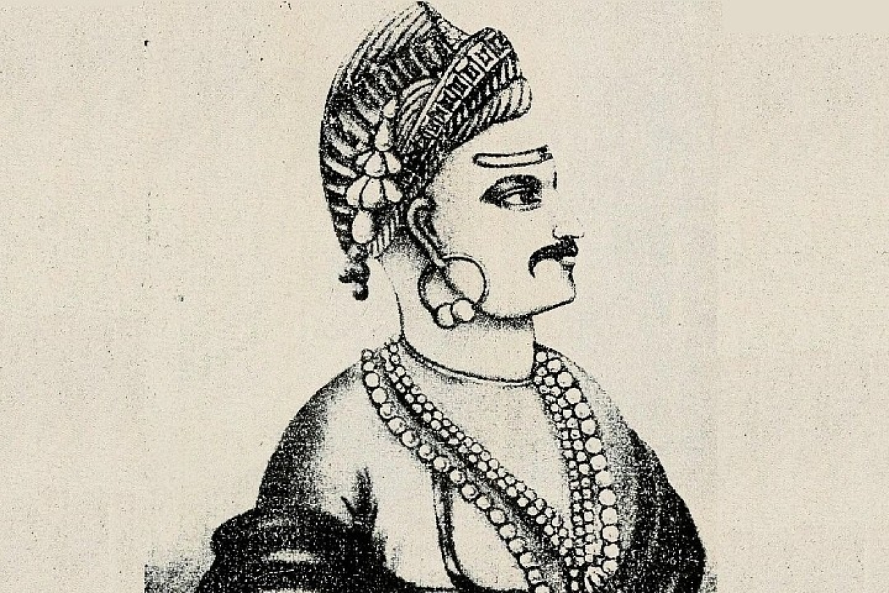 Peshwa Bajirao II (Image: Internet Archive Book Images / Flickr Commons)