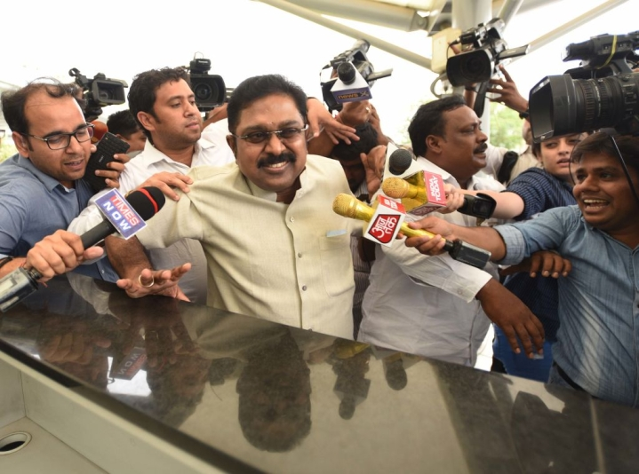 Dinakaran Wins R K Nagar Assembly By-Elections In Tamil Nadu, Vows To Bring Down Government
