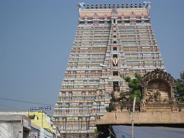 Sri Rangam temple (Palaniveluae/Wikimedia Commons)