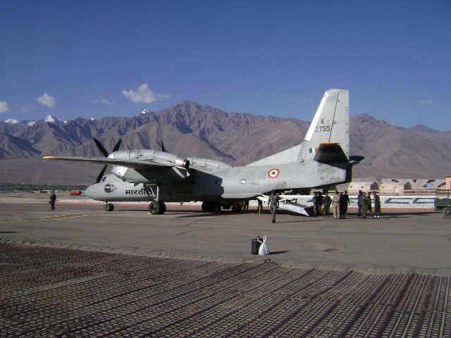 IAF Lands An-32 Aircraft On Strategically Vital Airstrip Near Border With China In Uttarakhand