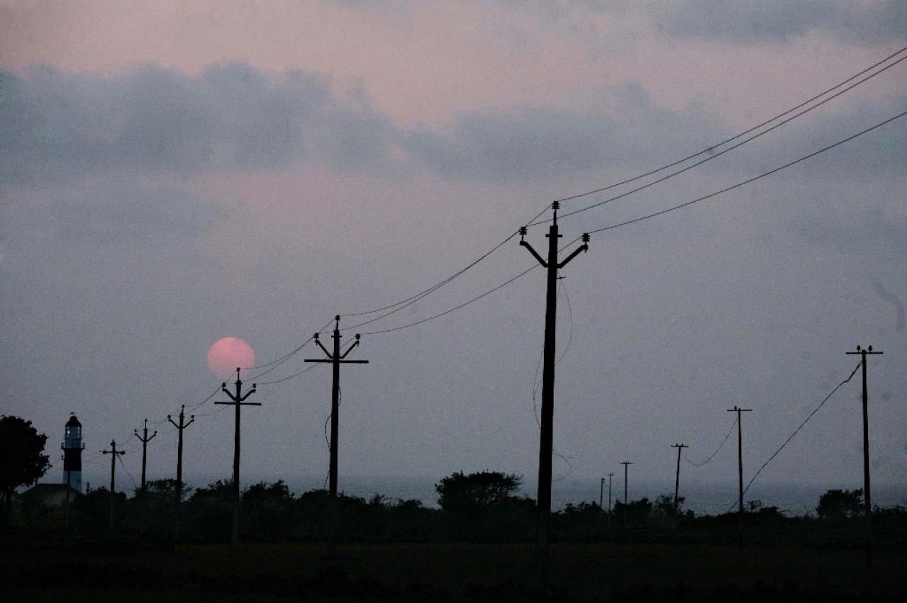 Electric cables. (Satish Bate/Hindustan Times via Getty Images)