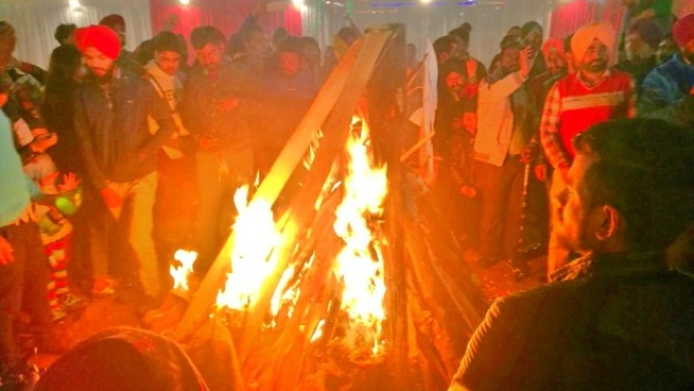 Inside Amritsar's Lohri Celebrations