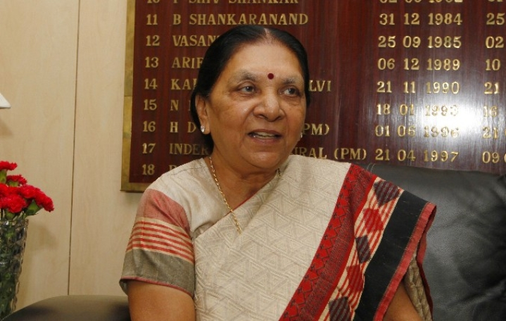 Former Gujarat Chief Minister Anandiben Patel Takes Oath As New Madhya Pradesh Governor