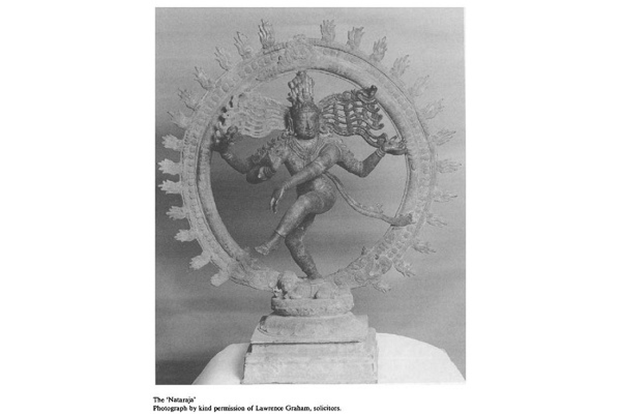 The Nataraja (Photo: Webster-Smalley)