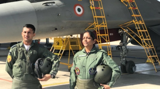 Storming The Sky In The Sukhoi, Nirmala Sitharaman Sets Another Benchmark