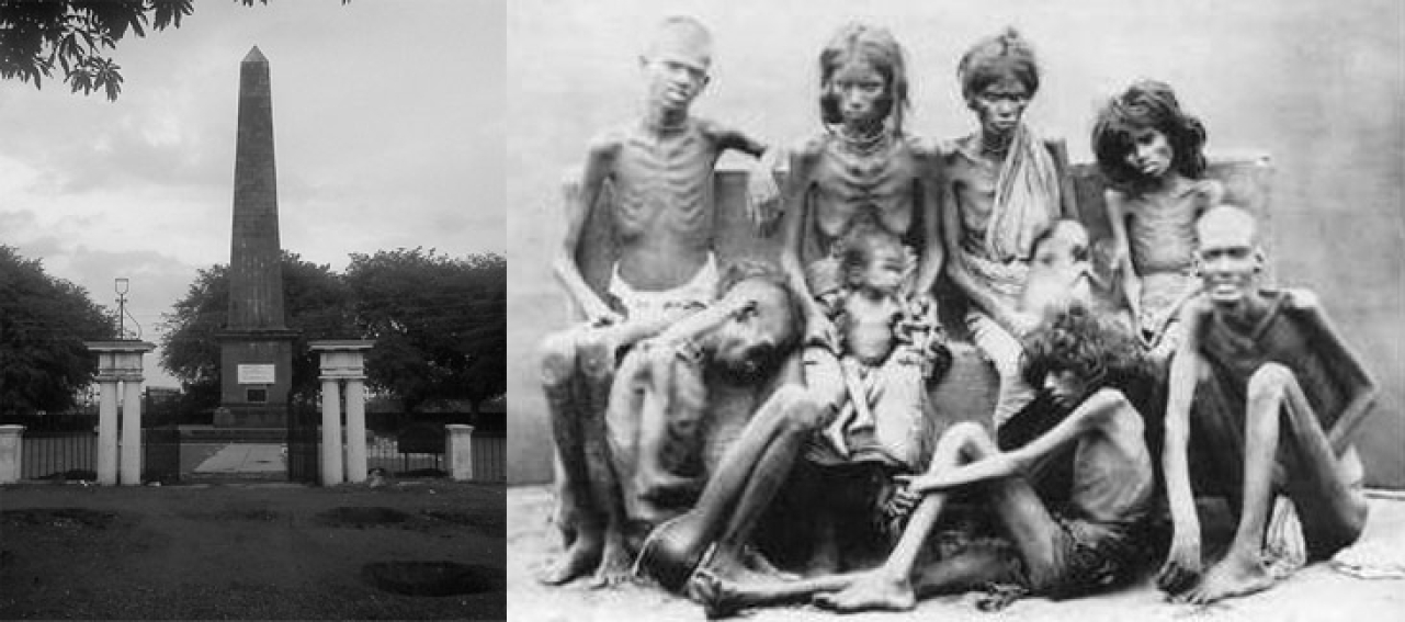 Those who proudly claim the legacy of 1818 should also claim the guilt of complicity in the subsequent famines effected by the British.