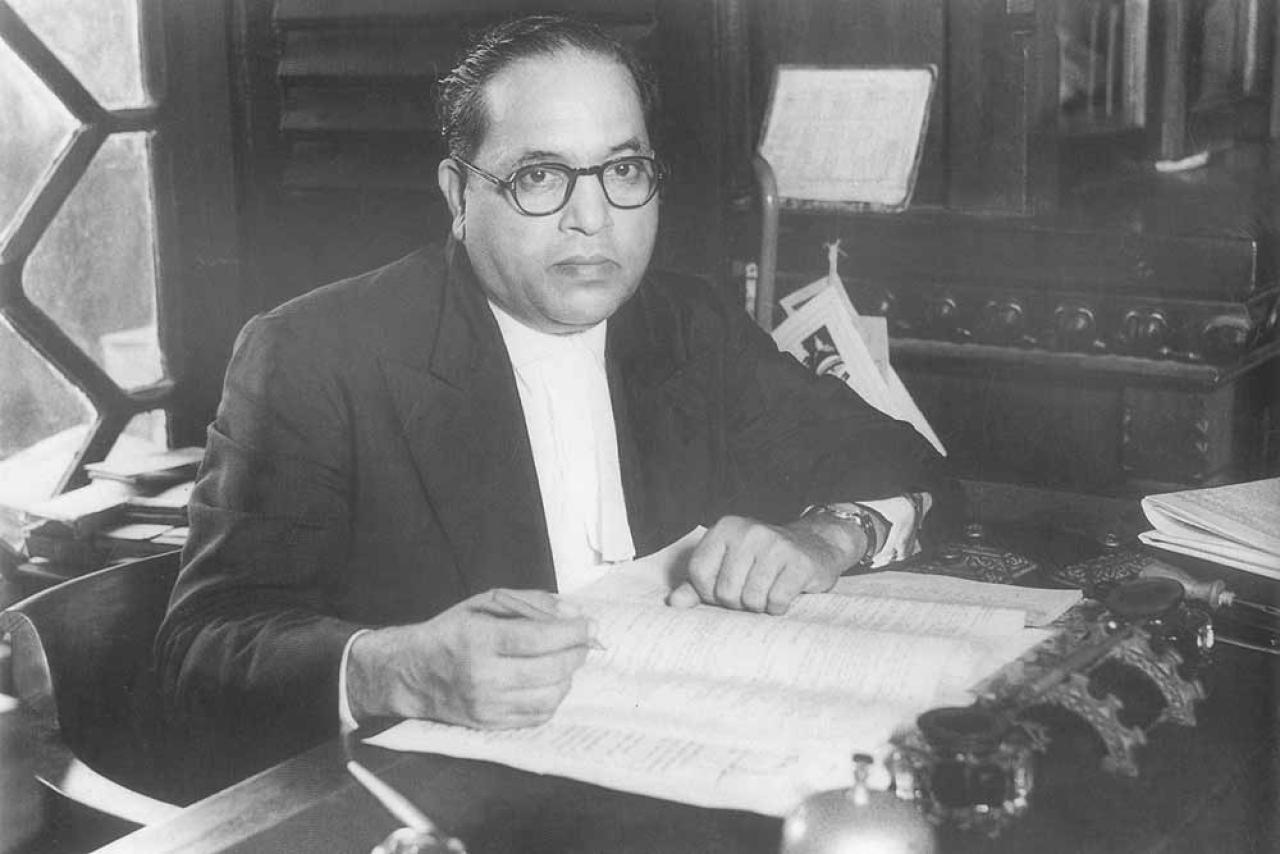 Dr B R Ambedkar. (Wikimedia Commons)