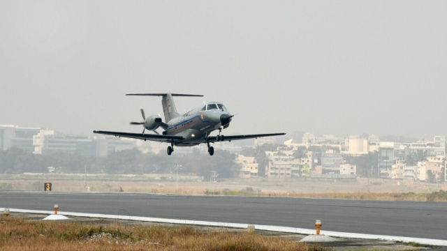 Watch: Upgraded Version Of  India's Indigenous Transport Aircraft Completes Maiden Flight