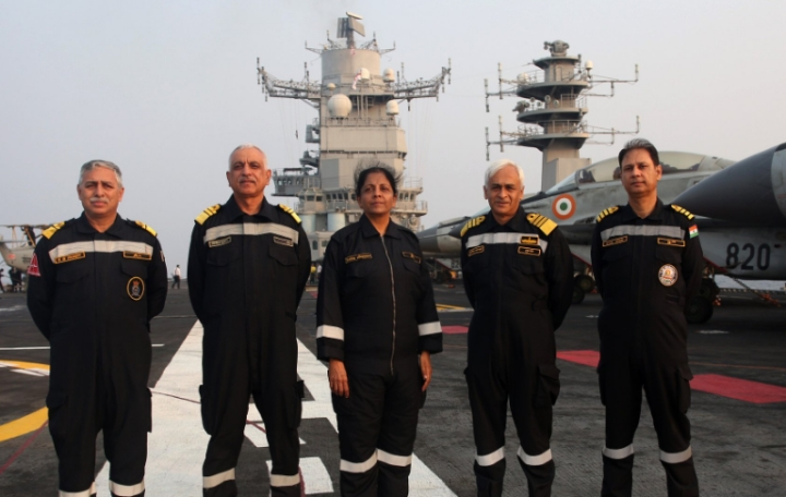 Morning Brief: Navy Fully Capable Of Defending The Nation: Sitharaman; New Industrial Policy On Way; 'Madrassas Breed Terrorists'