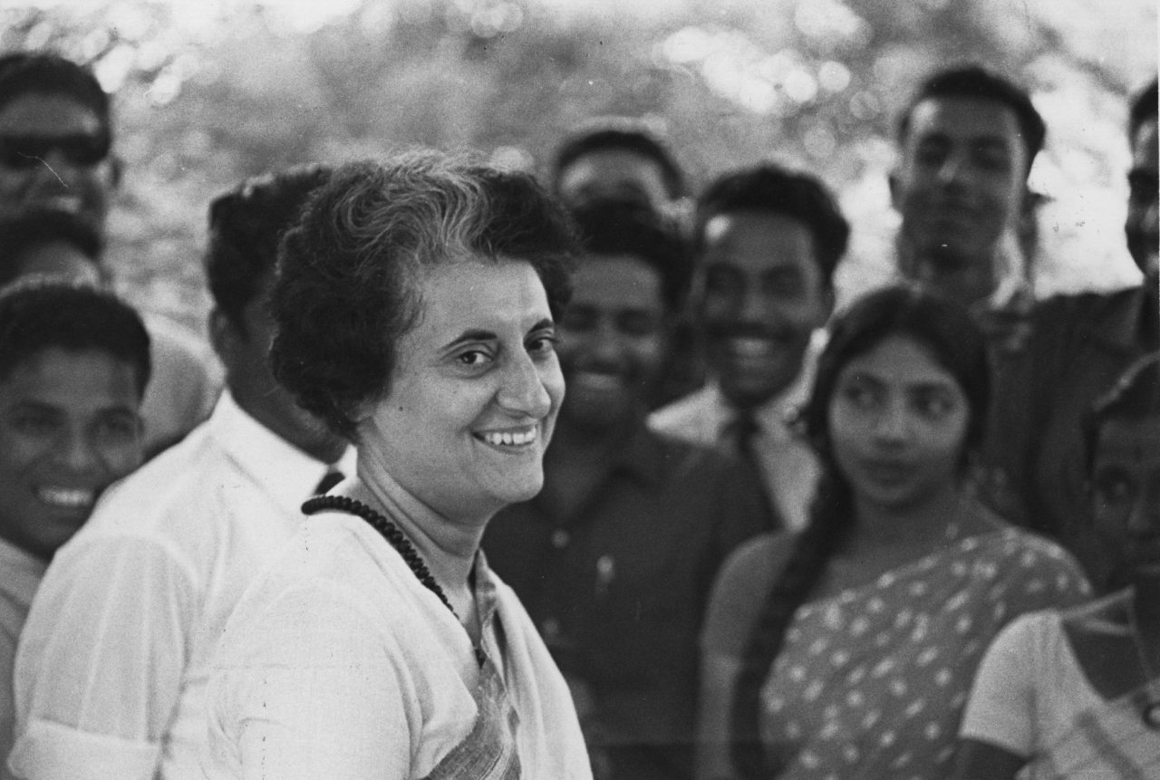 Former Prime Minister Indira Gandhi (Express Newspapers/Getty Images)