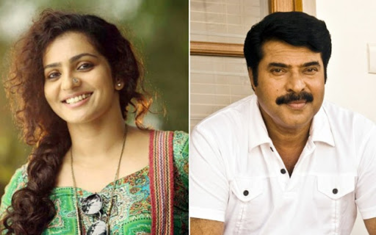 Parvathy and Mammootty