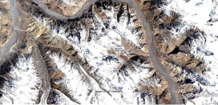 Satellite Imagery Shows China May Be Building A Road And Military Posts In Shaksgam Valley In Jammu And Kashmir