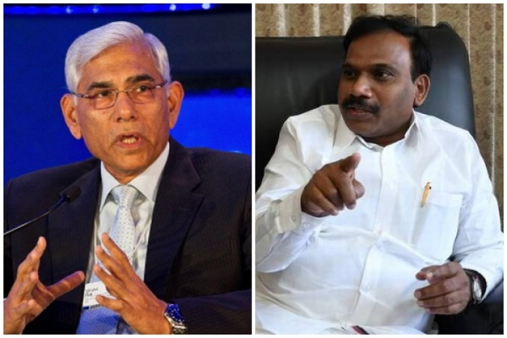 What Raja's Exaggerated Outrage And  Targeting Of Vinod Rai Tell Us