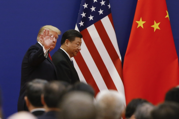 "US Trade Deficit With China ""Not Sustainable"": Trump To Jinping"
